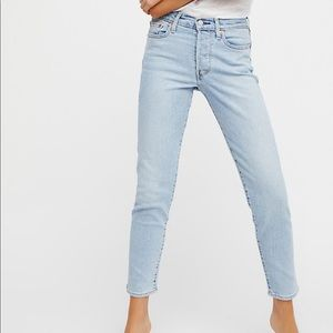 Levi's Wedgie Icon High Rise Jeans- Bauhaus Blues